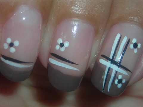 Nail art neutrals dise o de u as youtube Disenos de unas moda