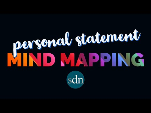 Mapping Your Life: Personal Statement Brainstorming Workshop