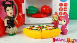 Küçük Cadı Maşalara Pizza Hazırlıyor Maşha And Bear Yeni Bölüm Çizgi Film