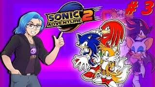 SONIC ADVENTURE 2: Knuckles Druckle Buckles - Ep 3 - Shad0