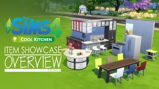 The Sims 4  Cool Kitchen - Item Showcase