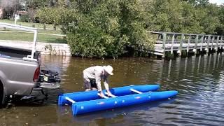 Не можу зробити це з вашої риболовлі каяк. Expandacraft демонтаж.