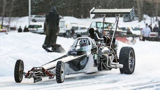 1000hp Dragster vs. Frozen Lake! thumbnail
