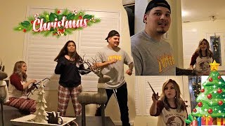 ANNOYING MOM FOR 24 HOURS! *She gets ANGRY* Vlogmas Day 1