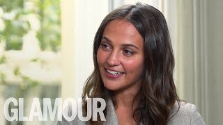 "Alicia Vikander on speaking up in sex scenes ""It was a moment when I was afraid"" 