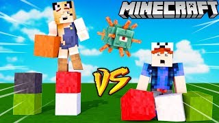 KTO BUDUJE SZYBCIEJ W MINECRAFT?!?! SPEED BUILDERS | BELLA VS VITO