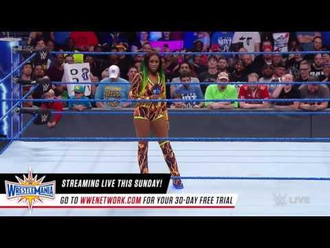 Naomi Returns to SD Live
