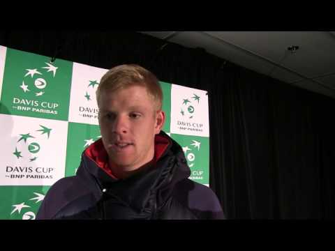 Kyle Edmund interview after Aegon GB Davis Cup Team beat Canada
