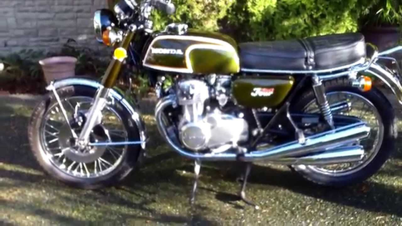 honda cb 350 four in original condition for sale youtube. Black Bedroom Furniture Sets. Home Design Ideas