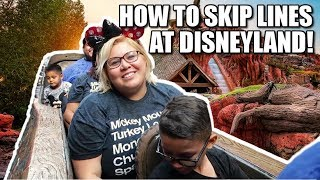 HOW TO SKIP ALL THE LINES AT DISNEYLAND! DISNEY VIP TOUR GUIDE!