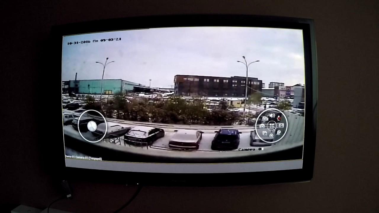 Вывод изображения с IP камер или регистратора на любой телевизор