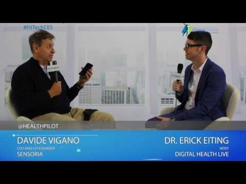 Davide Vigano (Sensoria) Interview @ 2017 Digital Health & Fitness LIVE