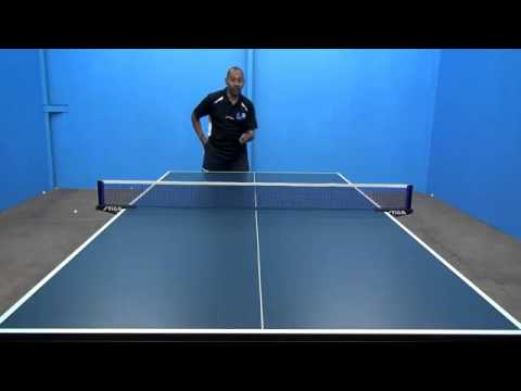 16) Brush Loop (Hitting a Forehand From Below Table )
