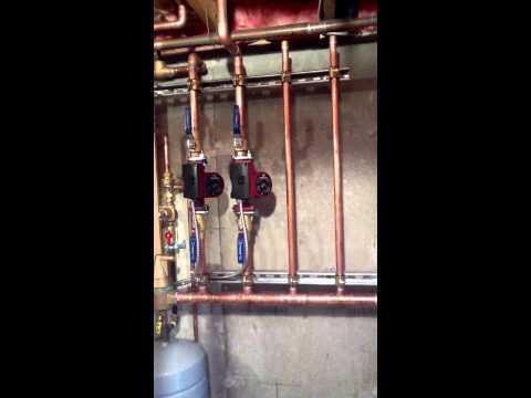 wood boiler hook up