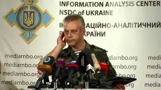 Andriy Lysenko. Ukraine Crisis Media Center, 11th Of August 2014