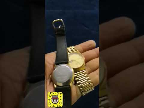 2a63322ac ساعات رادو اثرية Rado watch - YouTube