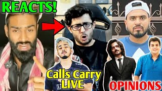 Amir Siddiqui Reaction On CarryMinati TIK TOK ROAST Video | Amit Bhadana, Ashish Chanchlani, Scout |