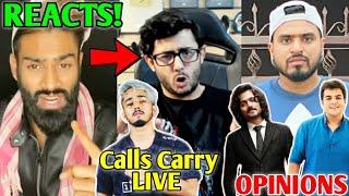 Amir Siddiqui Reaction On CarryMinati TIK TOK ROAST Video   Amit Bhadana, Ashish Chanchlani, Scout  