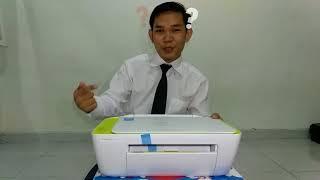 UNBOXING Printer HP Deskjet Ink Advantage 2135