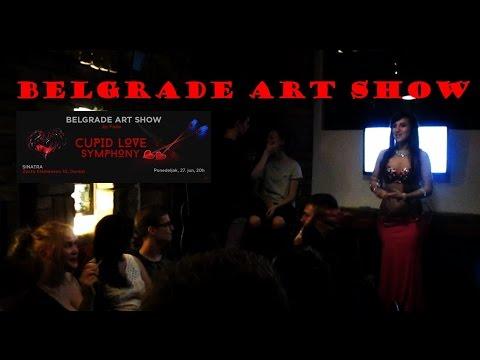 Nina Malika - Vlog #16 - XIII Belgrade Art Show