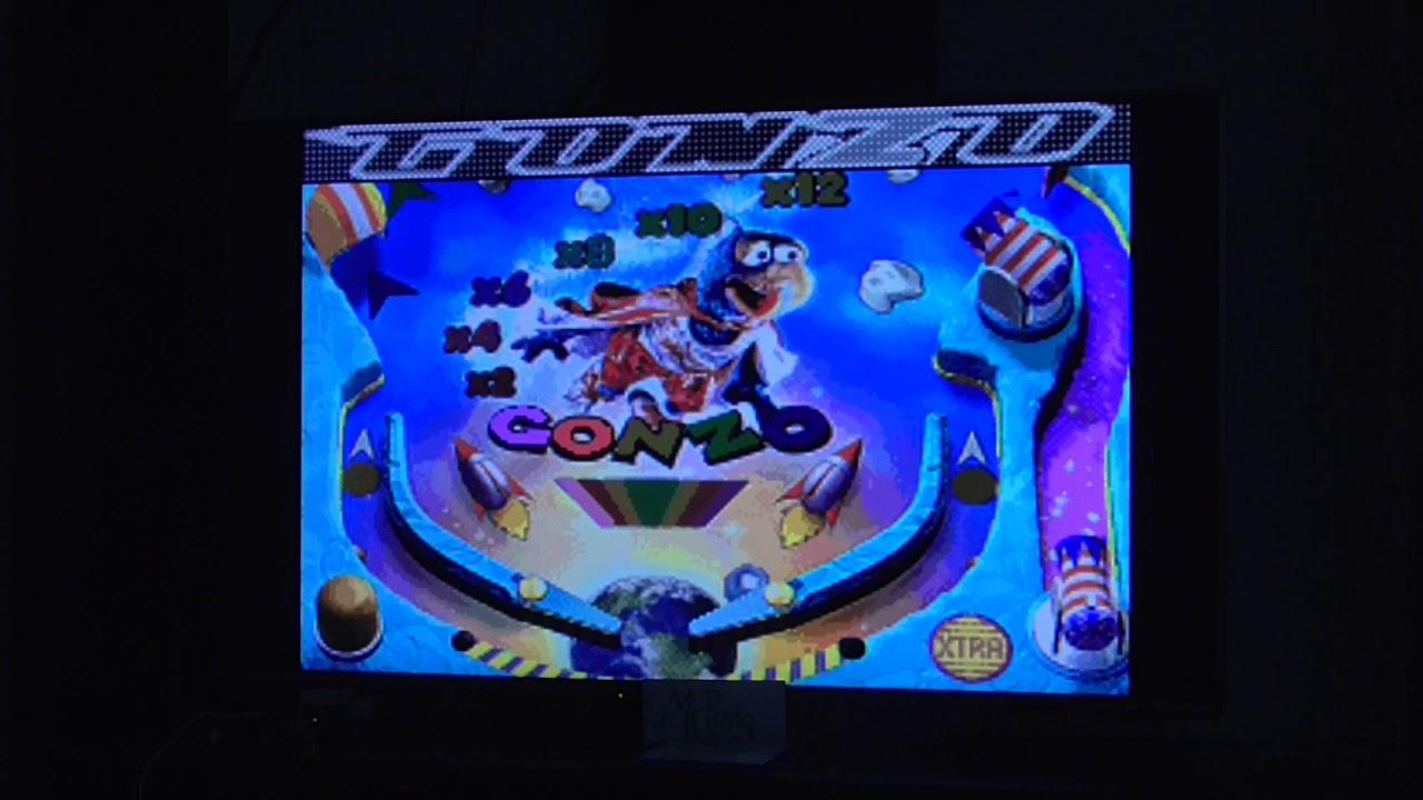 Muppet Pinball Mayhem: Konzo [5 Balls] (GBA Emulated)