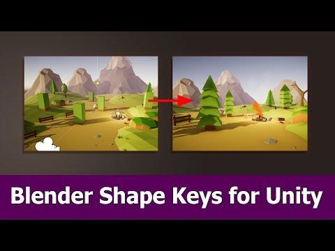 Blender Shape Keys