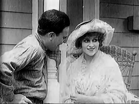 """""""Crossed Wires"""" (1915) featuring Florence La Badie"""