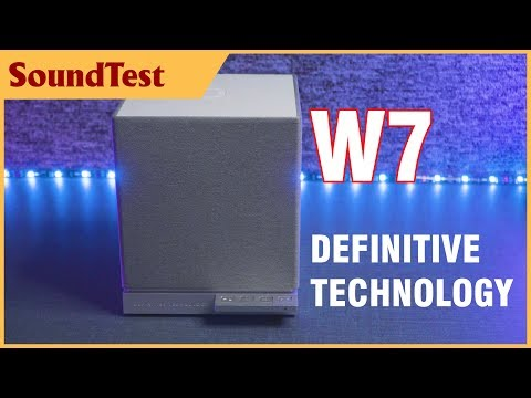 Definitive Technology W7 review