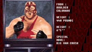 WWF Raw Snes Style - Vader