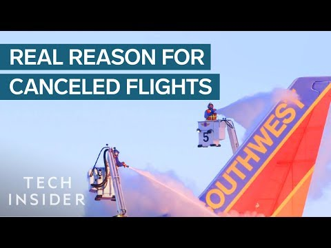 Why Cold Weather Causes So Many Flight Cancellations