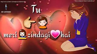 ❤ Tu meri Zindagi hai female version ringtone ❤ Whatsapp status Video 30 sec