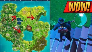 **TEMPORADA 5** EL MAPA ESTÁ DESAPARECIENDO de FORTNITE: Battle Royale!