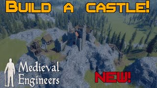 Let's look at Medieval Engineers! New game from KSWH!
