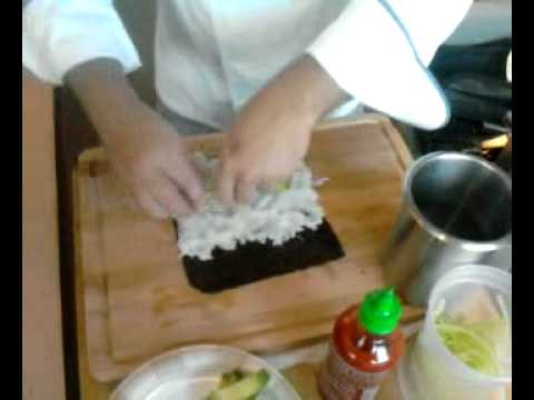 1059 SUNNY FM (WOCL) - Chef Jimmy Makes Sushi