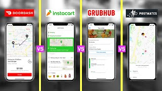 Best Food Delivery Service of 2020 (HONEST REVIEW) - DoorDash vs Grubhub vs Postmates vs Instacart