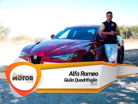 Alfa Romeo Giulia Quadrifoglio 2019 / Al volante / Review/ Supermotoronline.com