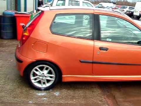 2000 fiat punto 1 8 16v hgt orange manual 3 door hatch for sale rh youtube com fiat punto 2000 1.2 manual manuale istruzioni fiat punto 2000