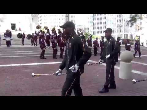 Central State University @ the 2015 Circle City Classic Pep Rally
