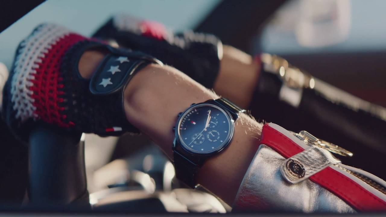 d88d65a5ce35 Tommy Hilfiger x Gigi Hadid Blake Watch - YouTube