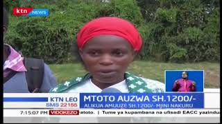 Mwanamke mmoja wa miaka 35 ajaribu kuumza mtotoye kwa Kshs.1,200