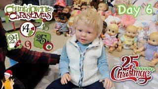 Reborn Countdown to Charistmas! Changing Toddler Lane - Day 6 | Kelli Maple