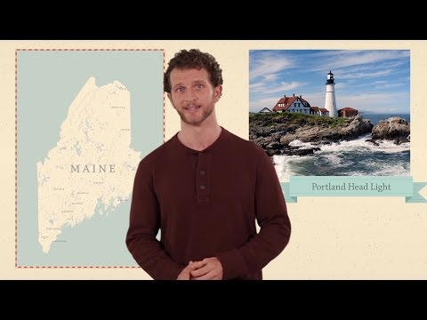Maine - 50 States - US Geography