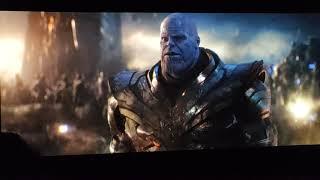 Avengers endgame last fight Theatre Reaction.