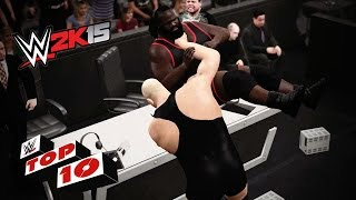 Annihilating Announce Table Attacks: Wwe 2k15 Top 10