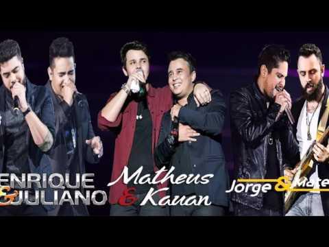 Seleção MP3  Jorge e Mateus, Matheus e Kaun e Henrique e Juliano