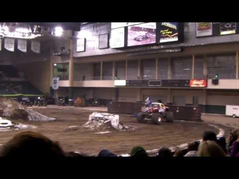 Toughest Monster Truck Tour 2014 Grand Forks ND