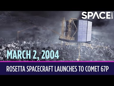 OTD in Space – March 2: Rosetta Spacecraft Launches to Comet 67P