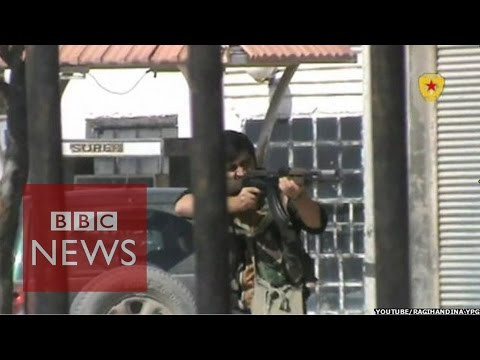 Fighting Islamic State in Kobane: 'There is no time for sleep' - BBC News