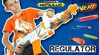 Честный обзор новый Нёрф Модулус Регулятор 2017 Nerf Modulus Regulator
