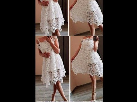 tutorial crochet vestido de boda paso a paso /how to do (subtitulos